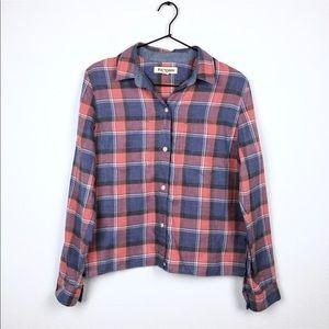 Madewell Rivet & Thread Harvey Plaid Flannel Shirt